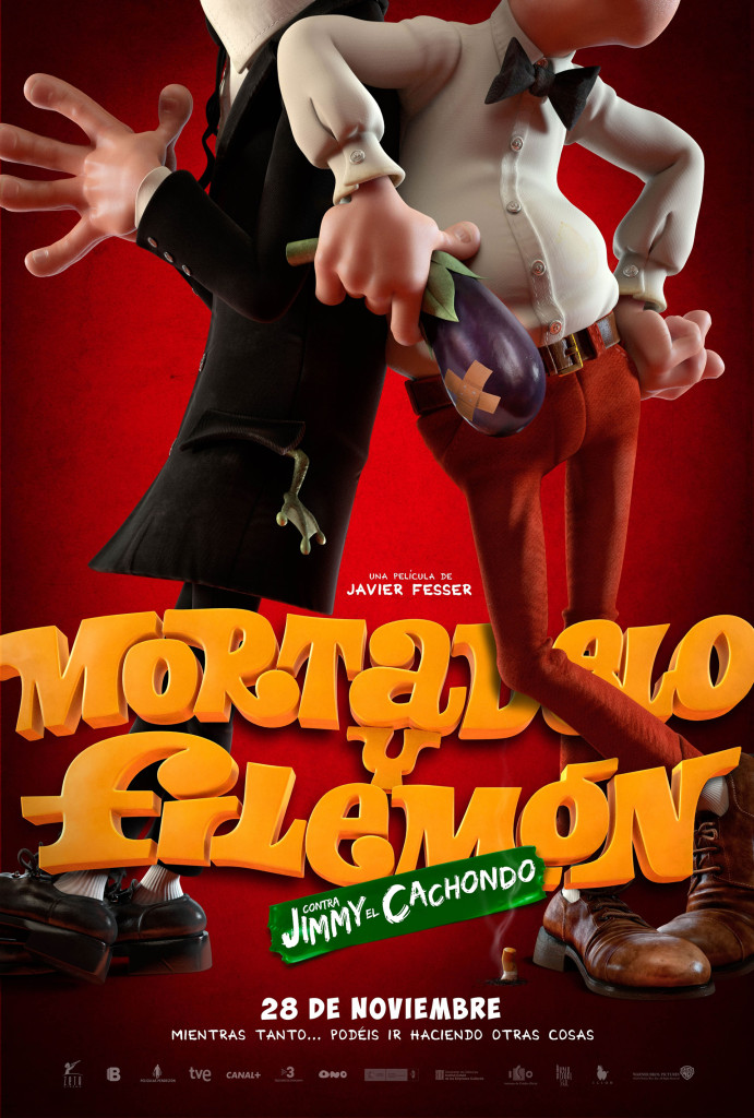 mortadelo y filemon ilion poster